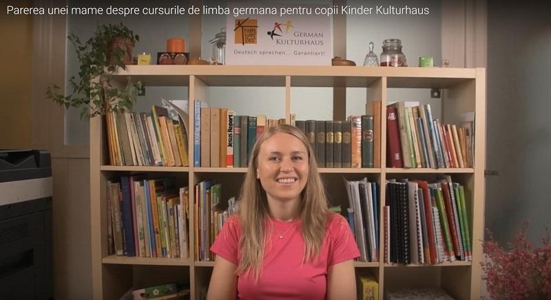 Oana mama gemenelor despre cursurile de limba germana pentru copii Kindr Kultur Haus Bucuresti